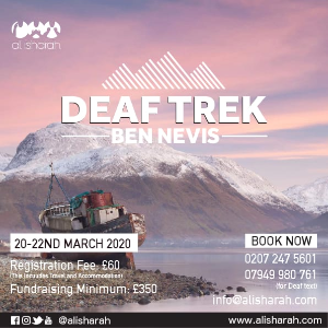 Altaf's Ben Nevis Trek for the Deaf