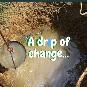 A drop of change