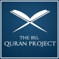 BSL QURAN PROJECT