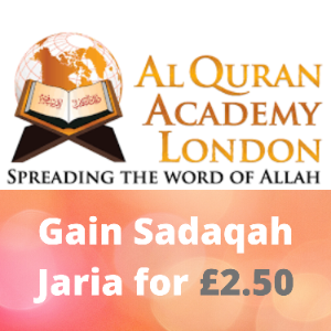 Free Quran Distribution as Sadaqa-e-Jariya